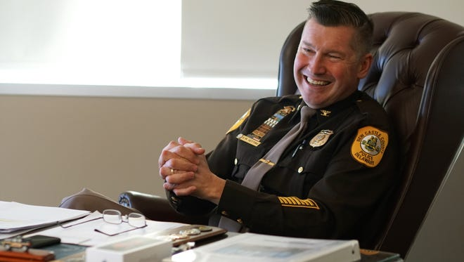 Former New Castle County Police Chief Col. Elmer Setting