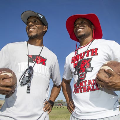Mark and Marcus Carter are twin brothers who coach