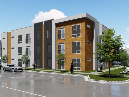 TWG Development is building 288 apartment units that will be a mix of market-rate and affordable one bedroom and two bedroom apartments, just south of Southridge Mall.