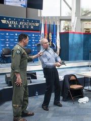 Former TOPGUN fighter tactics instructor Bill Driscoll