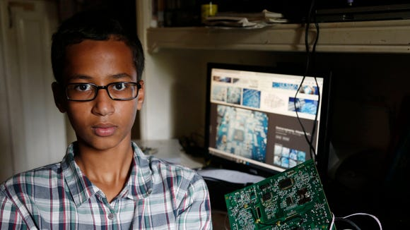 Irving MacArthur High School student Ahmed Mohamed,