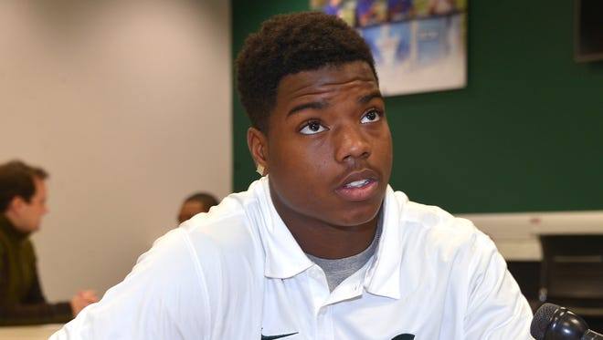 It's been obvious from the outset, Michigan State coaches say, Donnie Corley is not your ordinary freshman.