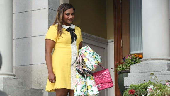 This yellow dress from 'The Mindy Project' is one of