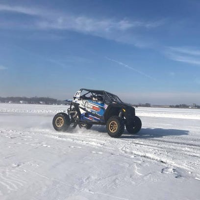 That's slick! Central Minnesota Ice Racing has its 2nd race Saturday