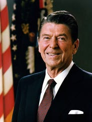 President Ronald Reagan renewed a sense of patriotism