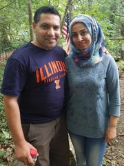 Hadi Umayra and his wife Riyam discussed the importance