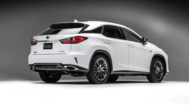 Lexus Shows New Generation Its Best Selling Rx