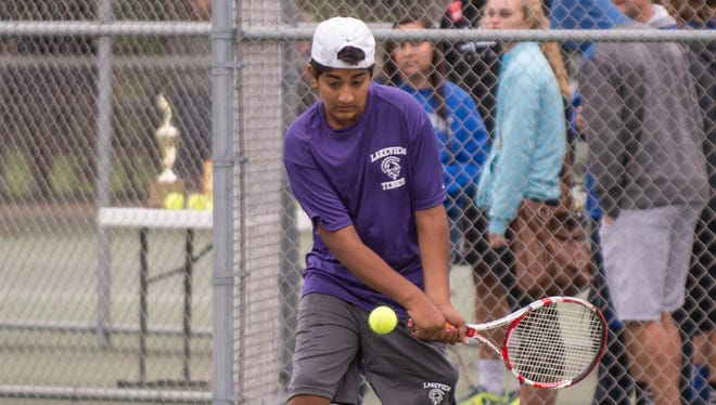 Lakeview's Jai Banerji in action earlier this season.