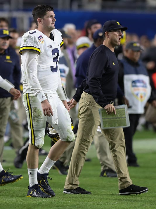 harbaugh speight, wilton speight jim harbaugh