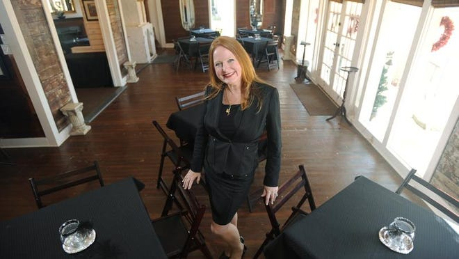 Event planner and entrepreneur Diana Cole is owner of Hearts of Madison event center, located just off Main Street near the railroad tracks.