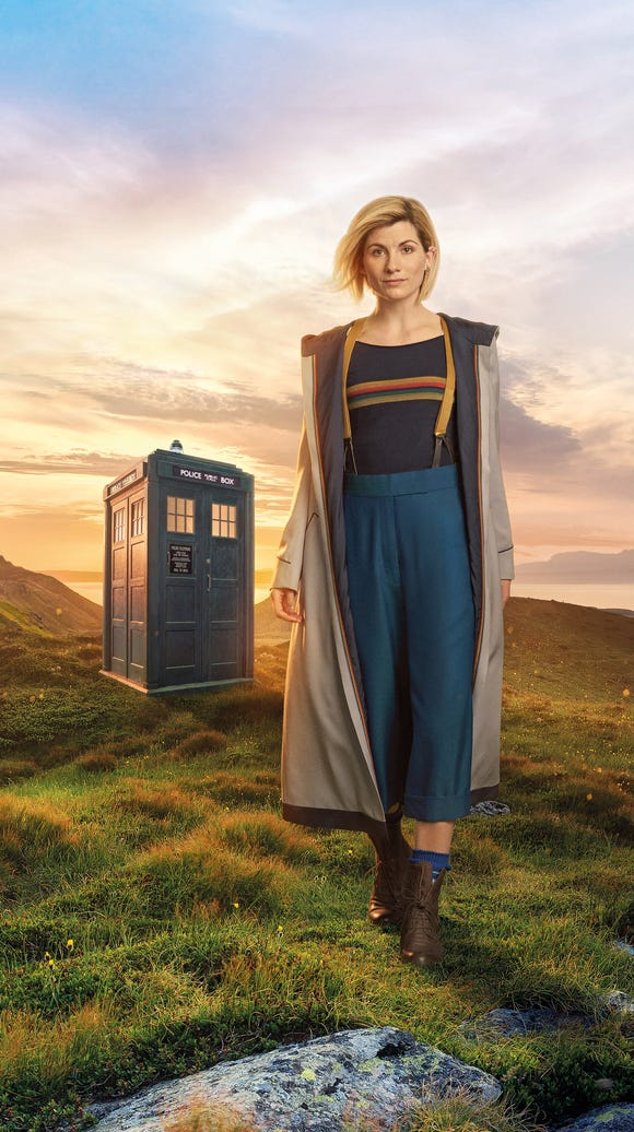 "New ""Doctor Who"" star Jodie Whittaker makes her Comic-Con"
