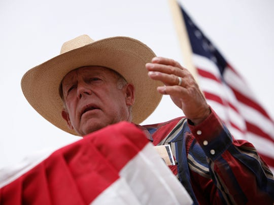 The standoff at the Nevada ranch of Cliven Bundy (seen in a 2014 photo) pitted cattle ranchers, anti-government protesters and militia members against the Bureau of Land Management.