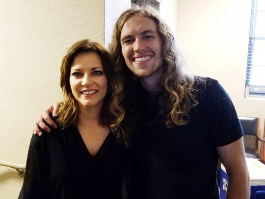 David Francisco and Martina McBride