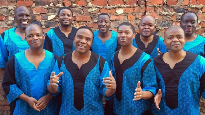 Ladysmith Black Mambazo will perform Tuesday at the Fox Theatre.