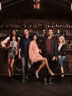 The stars of CMT's new reality TV show, 'Music City': (L-R) Alisa, Kerry, Rachyl, Jackson and Jessica.