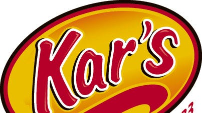 Logo for Kar's Nuts and sensible snacks. It started in Detroit in 1933, moved to Ferndale in 1946 and then to Madison Heights in 2004.