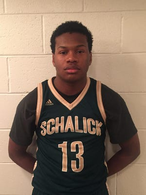 Schalick junior forward Troy Johnson is The Daily Journal's Most Improved Player.