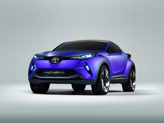 Toyota C Hr Wears Mean Face Of The Future