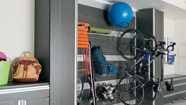 California Closets has 7 top tips for organizing your garage.