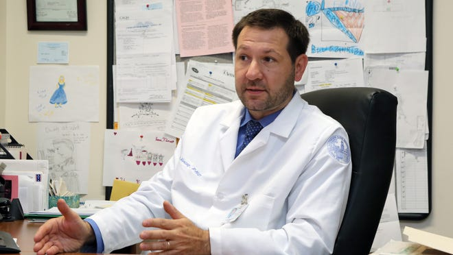 Mark Herceg, a neuropsychologist at Burke Rehabilitation Hospital in White Plains, is helping Irvington High School with its concussion management protocol.