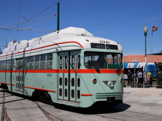 The El Paso streetcars will be offering free rides this summer through Labor Day.