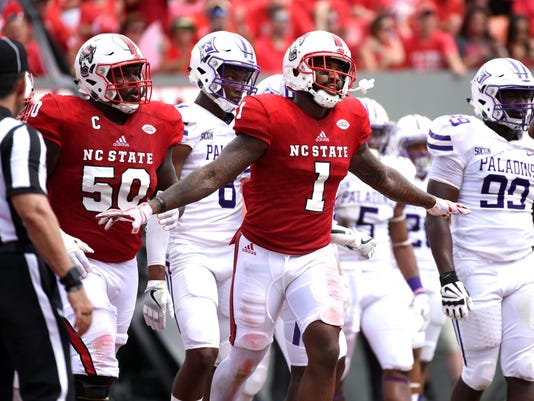 NCAA Football: Furman at North Carolina State
