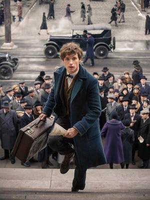 Newt Scamander (Eddie Redmayne) brings 'Harry Potter' magic to 1926 New York in 'Fantastic Beasts and Where to Find Them.'