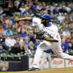 Davis hits another homer, but Brewers fall 6-1 to Cubs