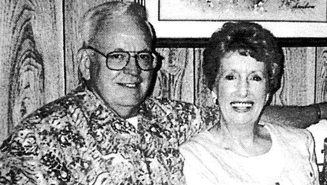 Gary and Barbara Skiver in 1998.