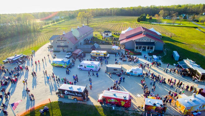 Harvest Ridge Winery in Marydel will host its annual food truck competition on Friday and Saturday with 25 different food trucks on site.