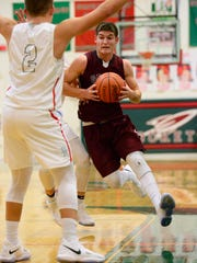 Genoa's Jacob Plantz was selected player of year in District 7.