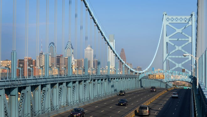 Ben Franklin Bridge, one of four bridges operated by the Delaware River Port Authority between Philadelphia and Camden,  produced its  highest revenue from greater traffic in 2017.