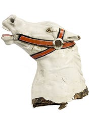 This head for a King Arthur Carrousel horse is not only a valuable bit of Disneyland memorabilia, but the start of a great prank. Bidding starts at $500.