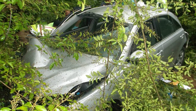 Eric Rhymes was pronounced dead at the scene of this crash on Highway 51