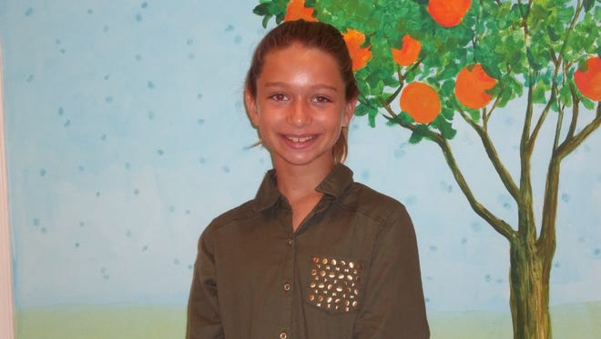 Grace Thomas, Character Counts! Student of the Week
