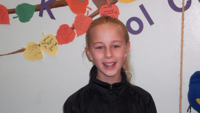 Brooke Belding, Character Counts! Student of the Week
