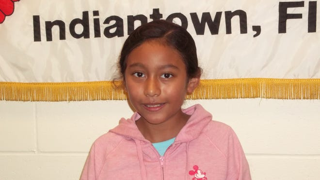 Bianca Morales Soto, Character Counts! Student of the Week