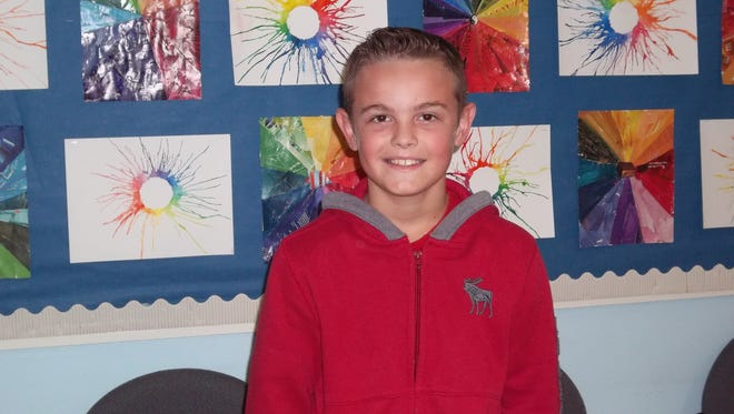 Parker McGraw, Character Counts! Student of the Week
