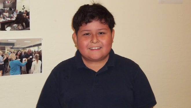 Angel Garcia, Character Counts! Student of the Week