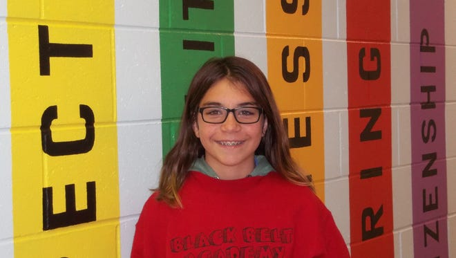 Anabelle Gonzalez, CHARACTER COUNTS! Student of the Week