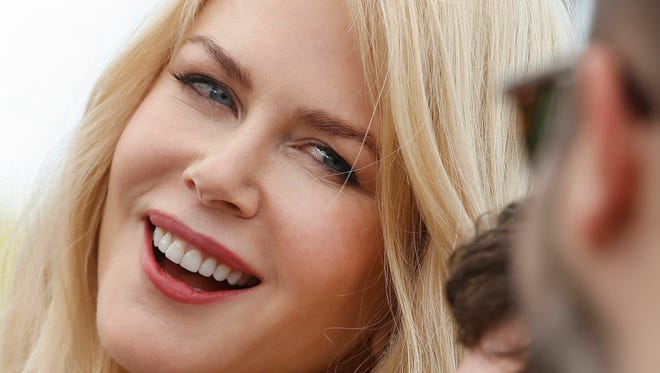 Actress Nicole Kidman poses for photographers during the photo call for the film The Killing Of A Sacred Deer at the 70th international film festival, Cannes, southern France, Monday, May 22, 2017.