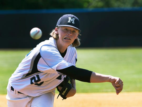 Manasquan vs Whipping Park in NJSIAA Group II Baseball