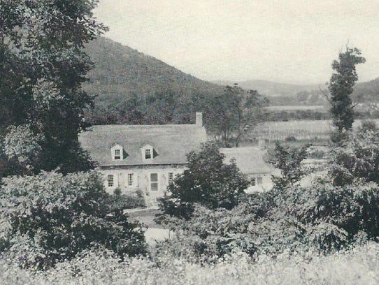 Capt. Joseph Board's 19th-century stone cottage was