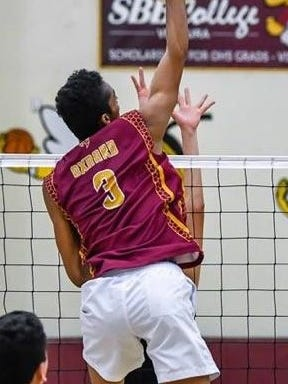 Jarrick Porte, a 6-foot-2 outside hitter, helped Oxnard earn a share of the Pacific View League title with Rio Mesa. The Yellowjackets open the Division 2 playoffs Tuesday at home against Arroyo Grande.