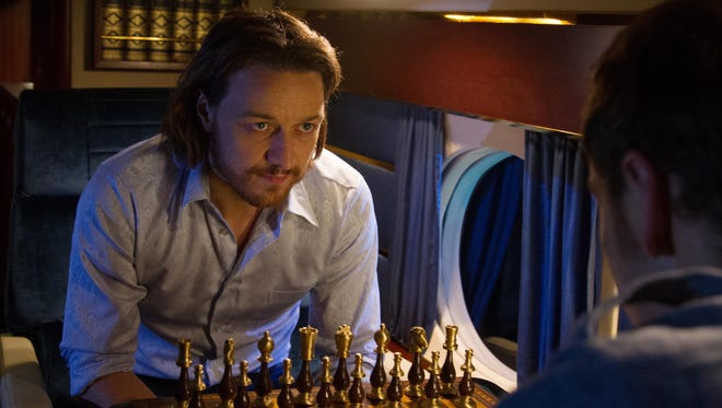 "James McAvoy stars as Charles Xavier, one of the major mutants in ""X-Men: Days of Future Past."""