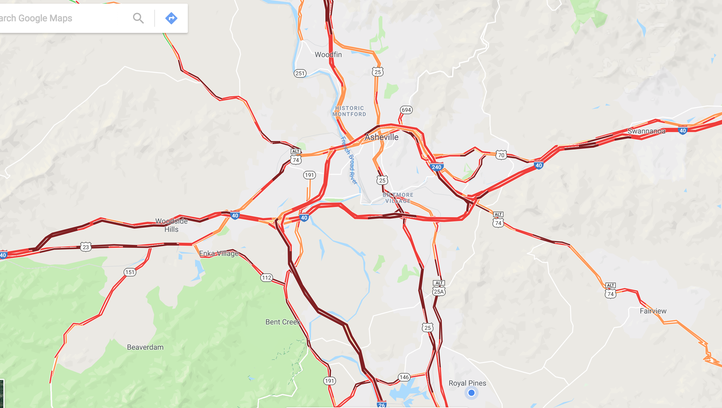 Winter storm catches WNC by surprise, wreaks havoc on roads