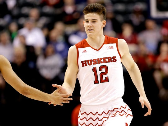 Michael Jacobson played plenty in his two seasons at Nebraska, but the wins for the Cornhuskers were scarce.