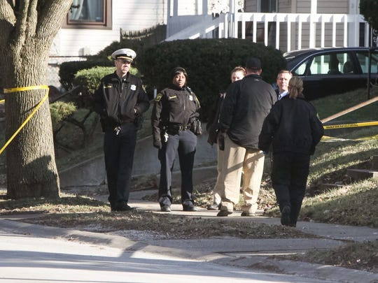 Police investigate Friday's fatal shooting in Bond Hill.