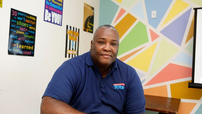 The Rev. Collie Nathan Edwers, pastor of the Friendship Worship Center, is an applicant for the proposed Friendship Tech Charter School of Excellence in Mount Vernon. Edwers is shown Wednesday at the center in Mount Vernon.