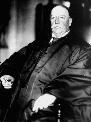 After his presidency, William Howard Taft went on to become chief justice of the United States. This photo is from 1930.